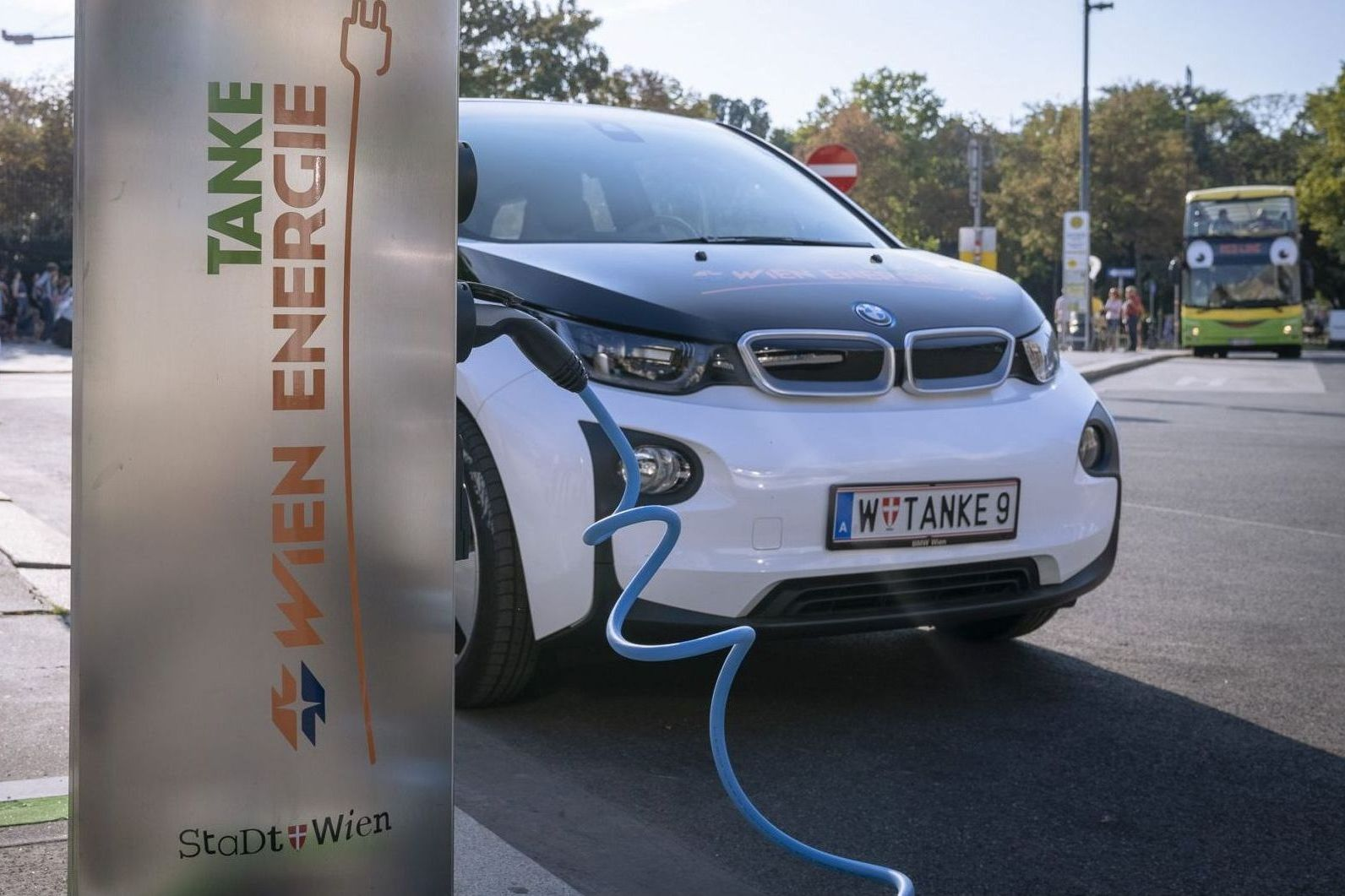 Wien Energie E-Ladestelle