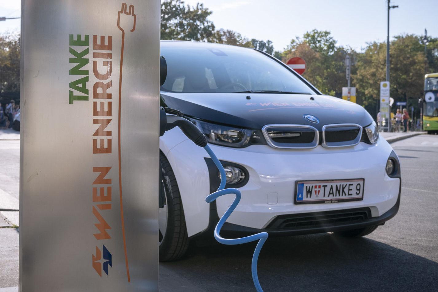 Wien Energie E-Tankstelle